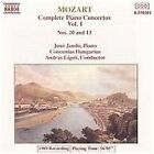 Mozart - Piano Concertos Nos, 20 & 13, , Good CD