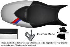 BLACK & WHITE CUSTOM M3 STRIPE FITS BMW F 800 R F 800 S F 800 ST SEAT COVER