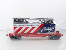 Lionel Artrain USA's America's Railways Trailer w SP Flat Car 6-52331 NEW RARE 2