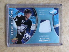 2009-10 UD ICE Fresh Threads VICTOR HEDMAN Patch /15