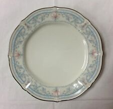 """NORITAKE """"CROWN FLOWER"""" BREAD PLATE 6 7/8"""" FLORAL IVORY FINE CHINA NEW JAPAN"""