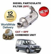FOR PEUGEOT PARTNER 1.6HDI 2008-  DIESEL PARTICULATE DPF & CAT CATALYTIC FILTER