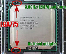 Intel Xeon E 5450 LGA775 = (core 2 quad Q9650) more powerful (TDP80w)
