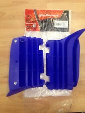 YAMAHA YZF 250 YZF250  2010-2013  POLISPORT RADIATOR LOUVRES RAD GUARDS  BLUE