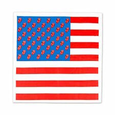 THE ROLLING STONES - USA TONGUE (FLAG) - OFFICIAL BANDANA