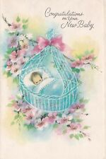 Congratulations to your new baby card  Coronation Collection