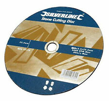 "5 pack stone cutting discs flat 115mm [ 41/2"" ] angle grinder [ 199875 ]"