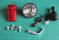 Bicycle Dynamo Lights Set Bike Safety Don't Need To Buy Battery Brand New