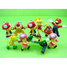 10 pcs Super Mario Bros Jewelry Making Assorted Figure Charms Pendant + GIFT