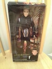 Barbie Collector FINNICK Hunger Games Catching Fire Ken MIB Doll Black Label
