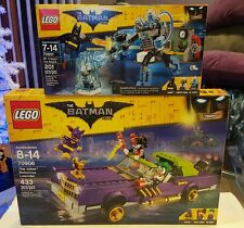 LEGO 70906 &70901 The Batman Movie The Joker Notorious Lowrider Mr Freeze Ice