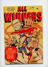 All Winners #19, 1946 Timely key; scarce, 1st app/orig All Winners Squad