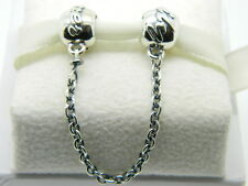 NEW! AUTHENTIC PANDORA FAMILY TIES SAFETY CHAIN #791788-05  P