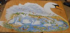 """F X Schmid Jigsaw Puzzle, Swan Lake, 1000 pieces, COMPLETE, 21.5"""" x 36'"""