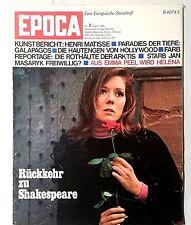 EPOCA Nr. 8 August 1968 Eine Europäische Zeitschrift Kunst und Kultur