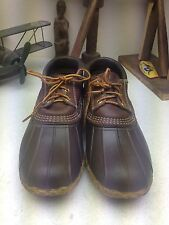 VINTAGE DISTRESSED MADE IN USA BEAN BOOTS DUCK HUNTING RAIN BOOTS 9.5-10.5 M