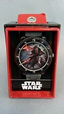 Star Wars: Episode VII - The Force Awakens Kylo Ren Grey Silicone Strap Watch