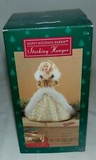 Hallmark Happy Holidays Barbie Stocking Hanger 1995