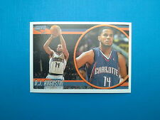 2010-11 Panini NBA Sticker Collection n.127 D.J.Augustin Charlotte Bobcats