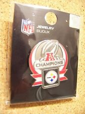 2010 Pittsburgh Steelers AFC Champions lapel  pin v3 champs