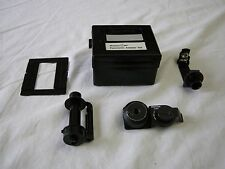 Mamiya M6 MF 35MM Panoramic Adapter Set with Case in EC