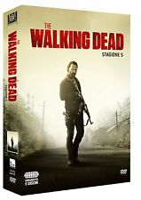 THE WALKING DEAD STAGIONE 5 (5 DVD) SERIE CULT HORROR VERSIONE ITALIANA