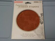 HERO ARTS BASICGREY RUBBER STAMP LUSCIOUS FLORAL BACKGROUND CG301 NEW A1136