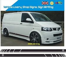 VW Side Stripes Decals Transporter T4 T5 Campervan Vehicle Graphic 008