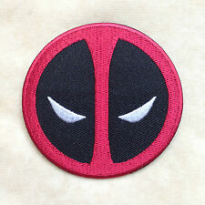 SUPERHERO SUPER HERO DEADPOOL MARVEL COMICS EMBROIDERY IRON ON PATCH BADGE #2