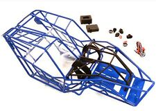 Integy Steel Tube Roll Cage Chassis Body Rock Crawler Racer Axial  Wraith Blue