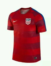 NEW 2016 Nike Team USA Soccer Jersey Red Blue Dri Fit Performance Men's medium