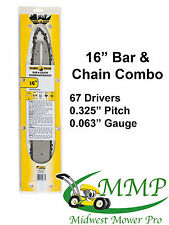 stihl Bar & Chain Combo 16-in .325 .063 67DL Fits MS290, 029 [CCST][B1A31033]