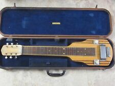 1940's Vega lap guitar and original case- sounds great, very nice,ready to play