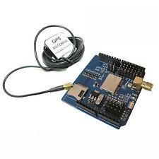 New GPS Shield Module Board V2.1 EB-5365 SD Interface w/ Antenna for Arduino Hot