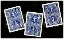 MATRIX CARD MOVING HOLE ON BICYCLE BLUE BACK VISUAL LIKE HOLLOW MAGIC TRICK WOW