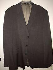 BURBERRY SPORT COAT SIZE 46 LARGE GRAY MADE IN USA