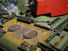 Motor Panzerung Cover Armor Luke RC Panzer Tank KV1 KV-1 KW1  Zubehör Umbau 1/16