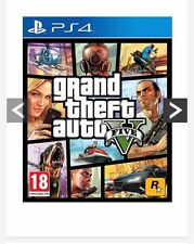 PS4 Game GTA 5 / Grand Theft Auto 5. Brand New. Sealed.