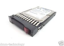 "HP 146GB Dual-port SFF 2.5"" SAS Hotplug HDD 15K 3Gb/sec Hard Drive 504334-001"