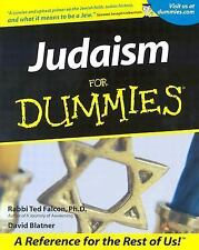 Judaism For Dummies Ted Falcon, David Blatner Paperback