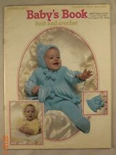 Baby Book  - Leaflet 144 - Leisure Arts - 16 Crochet or Knit Patterns