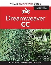 Dreamweaver CC: Visual QuickStart Guide, Smith, Dori, Negrino, Tom, Good Book