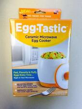 EggTastic Microwave Egg Cooker Poacher As Seen On TV Egg Tastic Egg-Tastic New