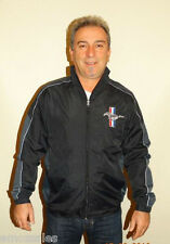 NEW 2016 FORD MUSTANG POLYESTER WIND BREAKER JACKET WITH EMBROIDERED LOGO XL