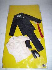"""RARE VINTAGE JAMES BOND ACTION FIGURE SUIT CLOTHING 12"""" THE A.C GILBERT CO."""