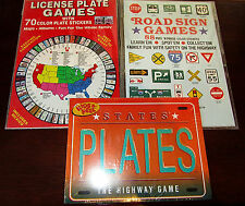 L@@K ROAD TRIP! SET OF 3 GAMES BRAND NEW IN PACKAGE UNOPENED STATE PLATEC, ETC.