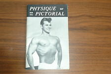 PHYSIQUE PICTORIAL SMR 1955 VINTAGE MAGAZINE BOYS ART BEEFCAKE GAY MALE NUDE