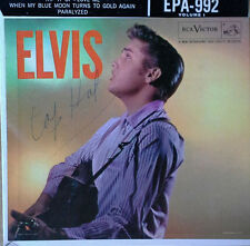 ELVIS PRESLEY - ELVIS - RCA EPA-992 - VOL.1 - EXTENDED PLAY - COVER ONLY - 1956