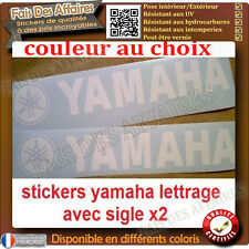 lot de 2 stickers autocollant diapason-yamaha