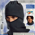 NEW Ski Motorcycle Winter Thermal Fleece Balaclava Full Face Neck Mask Hat Black